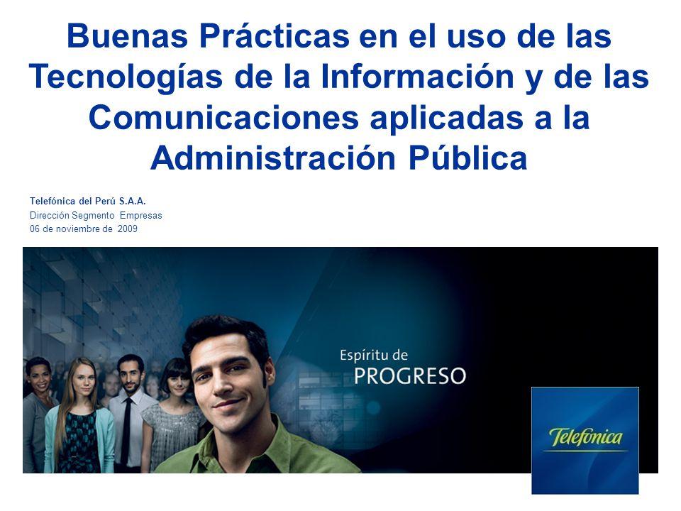 Buenas Prácticas en el uso de las Tecnologías de la Información y de las Comunicaciones aplicadas a la Administración Pública