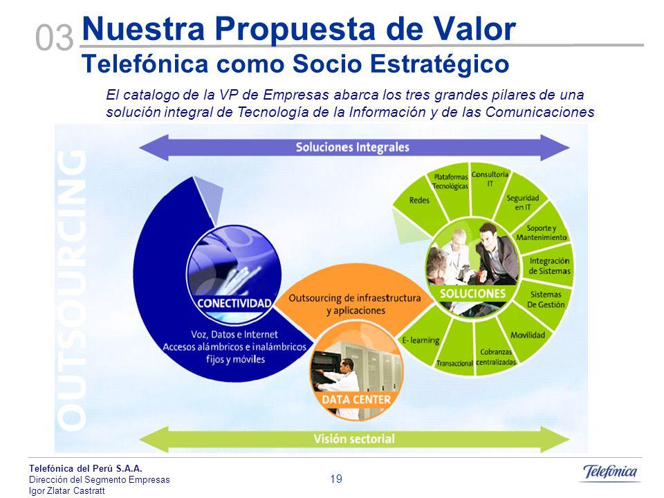 Nuestra Propuesta de Valor Telefónica como Socio Estratégico