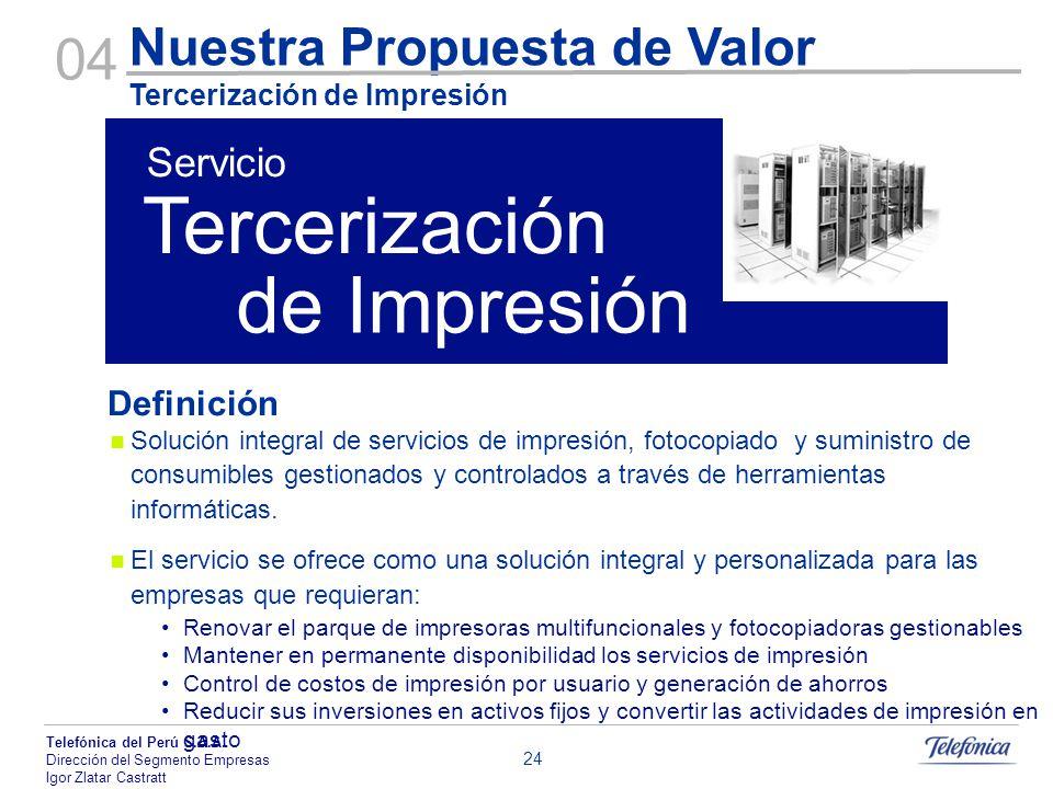 Tercerización de Impresión 04