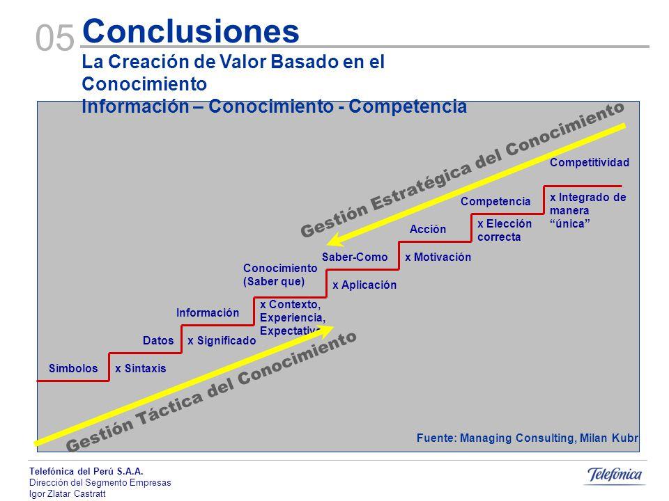 Fuente: Managing Consulting, Milan Kubr