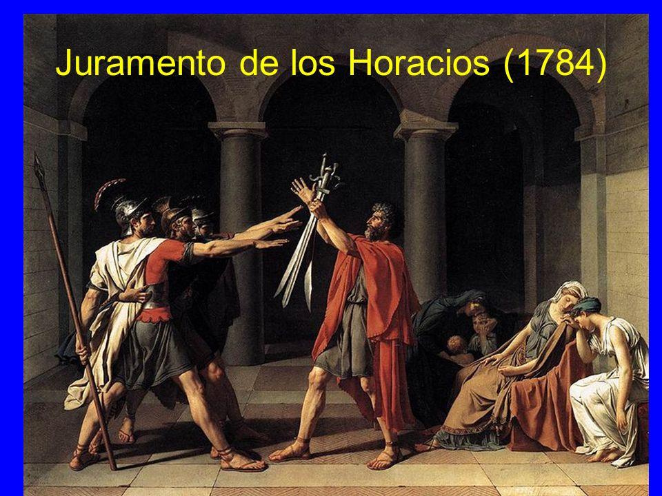 Juramento de los Horacios (1784)
