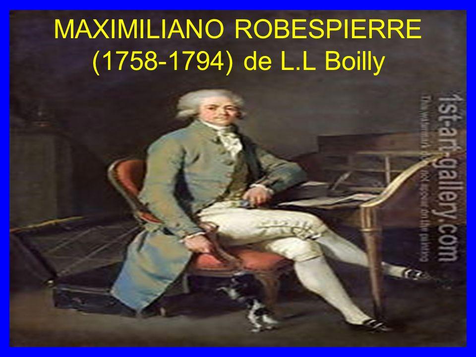 MAXIMILIANO ROBESPIERRE (1758-1794) de L.L Boilly
