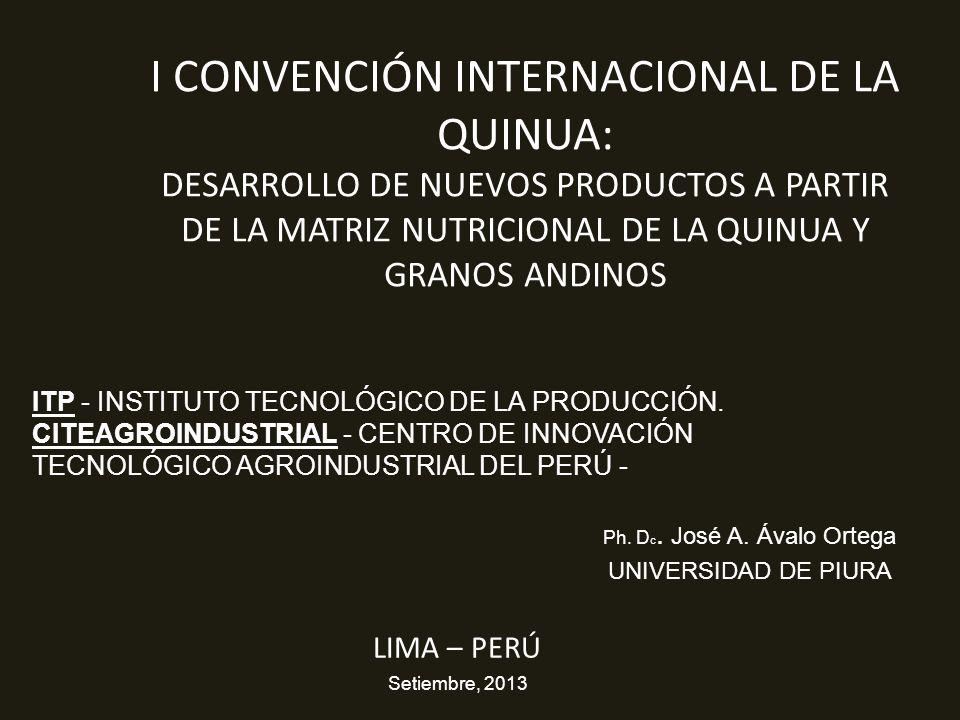 Ph. Dc. José A. Ávalo Ortega