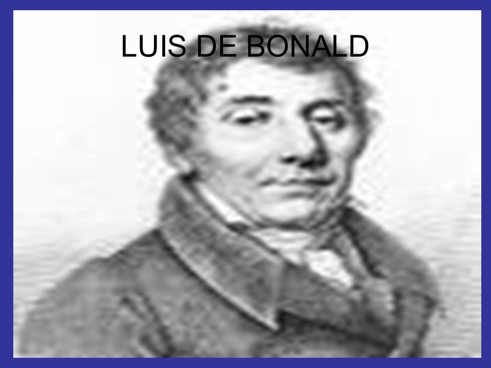 LUIS DE BONALD