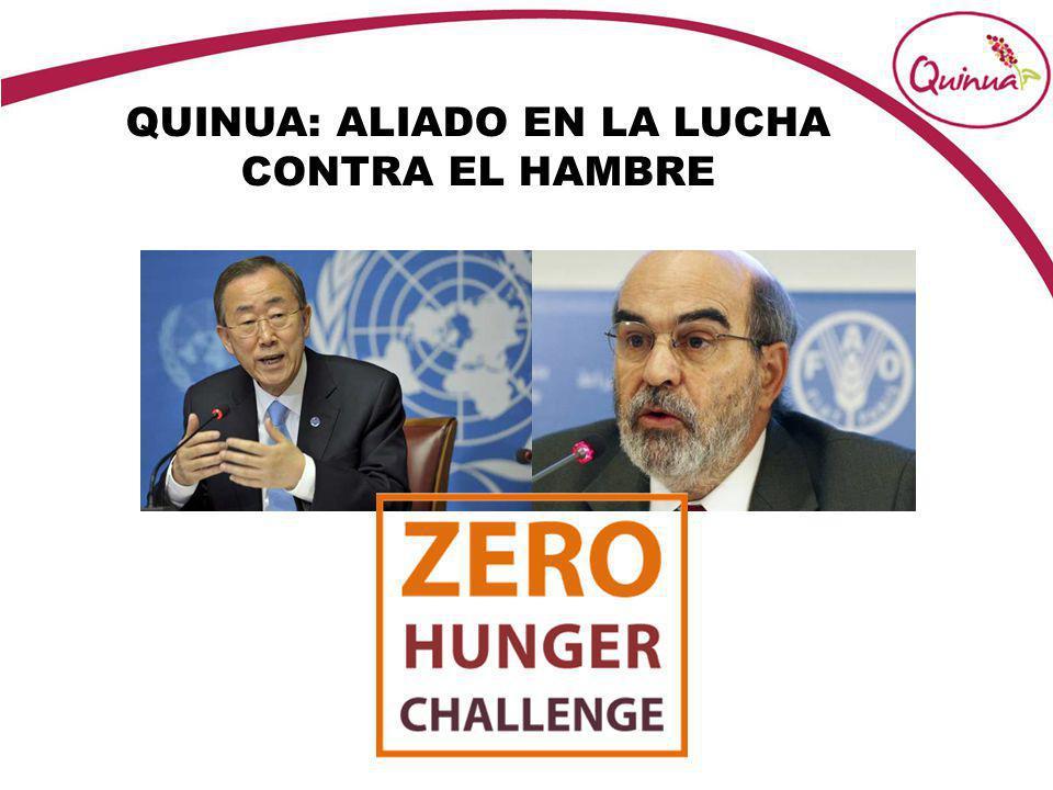 QUINUA: ALIADO EN LA LUCHA CONTRA EL HAMBRE