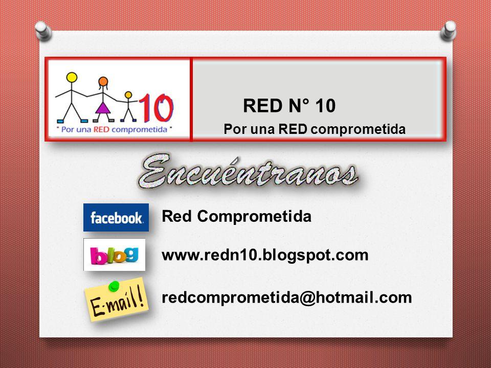 RED N° 10 Red Comprometida www.redn10.blogspot.com
