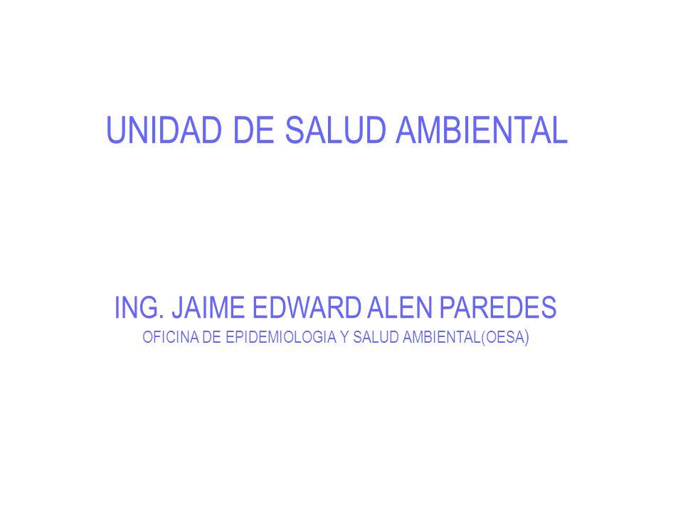 UNIDAD DE SALUD AMBIENTAL