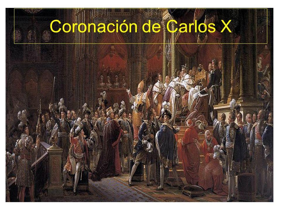 Coronación de Carlos X