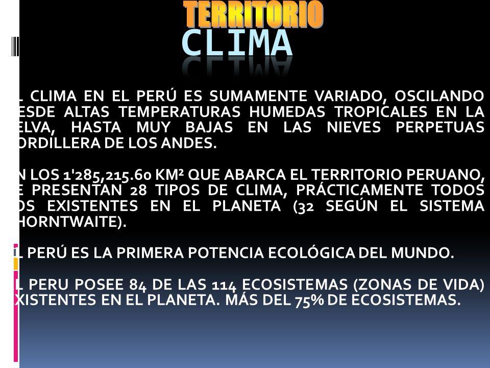 TERRITORIO CLIMA.