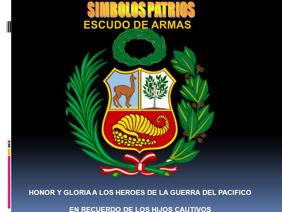 SIMBOLOS PATRIOS ESCUDO DE ARMAS