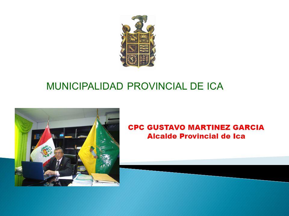 MUNICIPALIDAD PROVINCIAL DE ICA