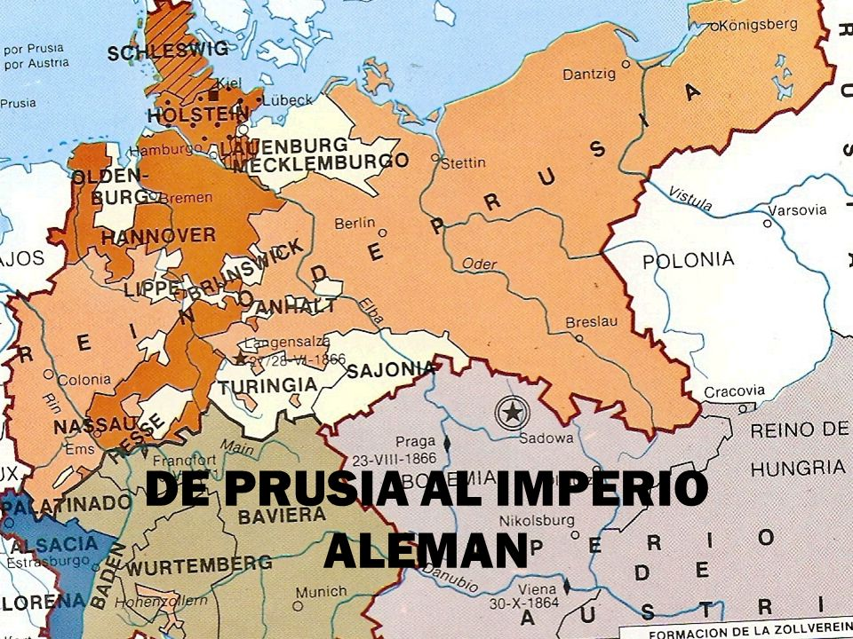 DE PRUSIA AL IMPERIO ALEMAN