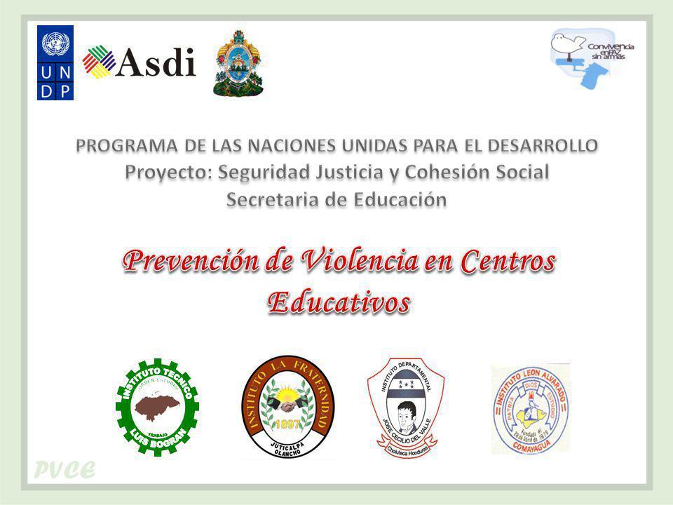 Prevención de Violencia en Centros Educativos