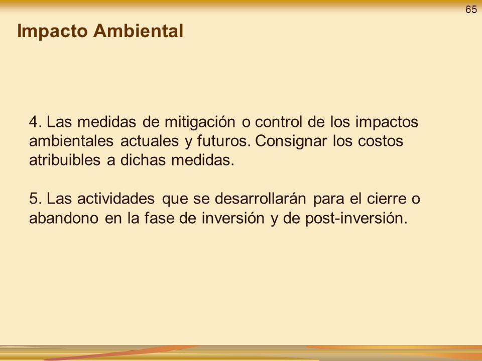 Impacto Ambiental 65.