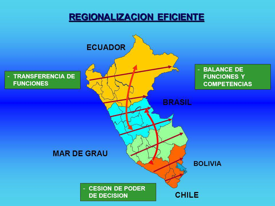 REGIONALIZACION EFICIENTE