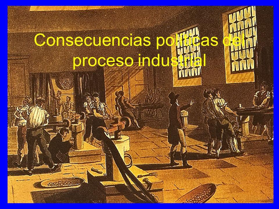 Consecuencias políticas del proceso industrial