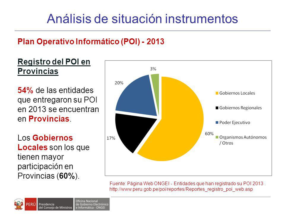 Análisis de situación instrumentos