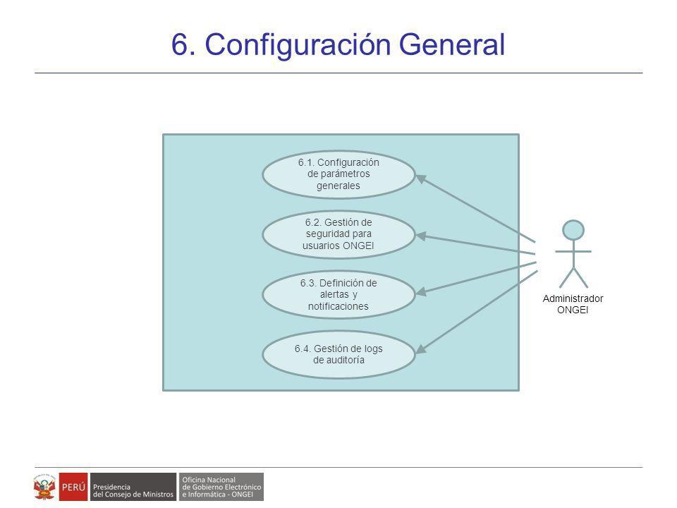 6. Configuración General