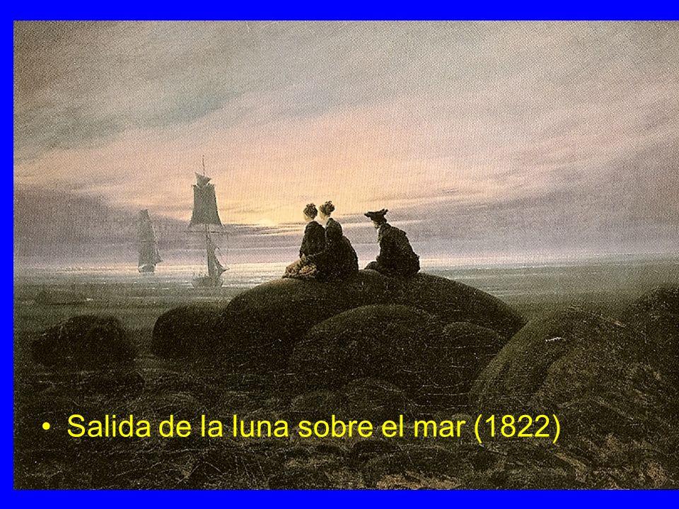 Salida de la luna sobre el mar (1822)