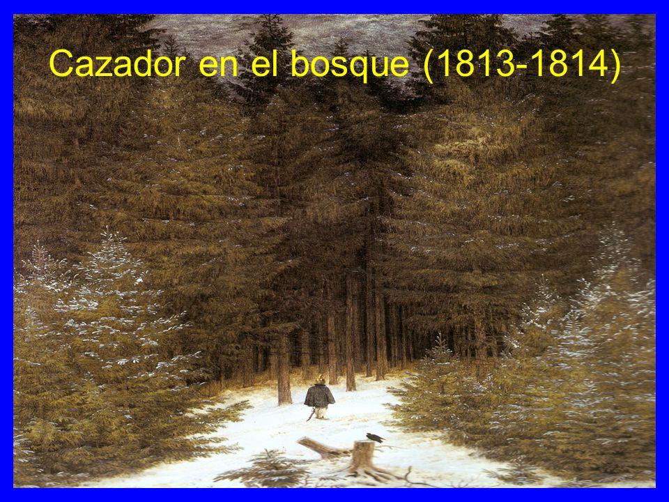 Cazador en el bosque (1813-1814)
