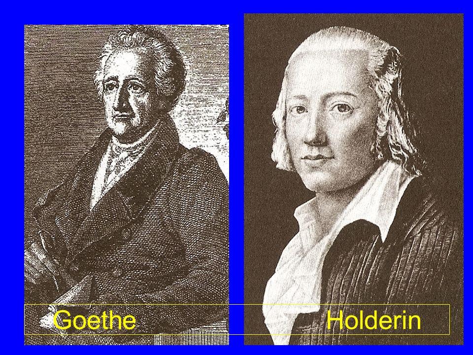 Goethe Holderin