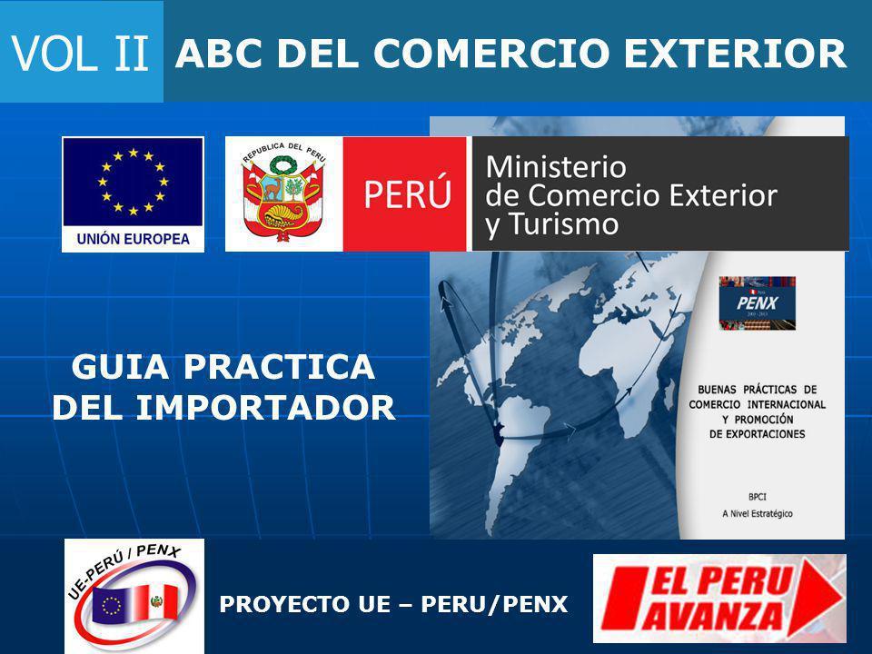 VOL II ABC DEL COMERCIO EXTERIOR GUIA PRACTICA DEL IMPORTADOR