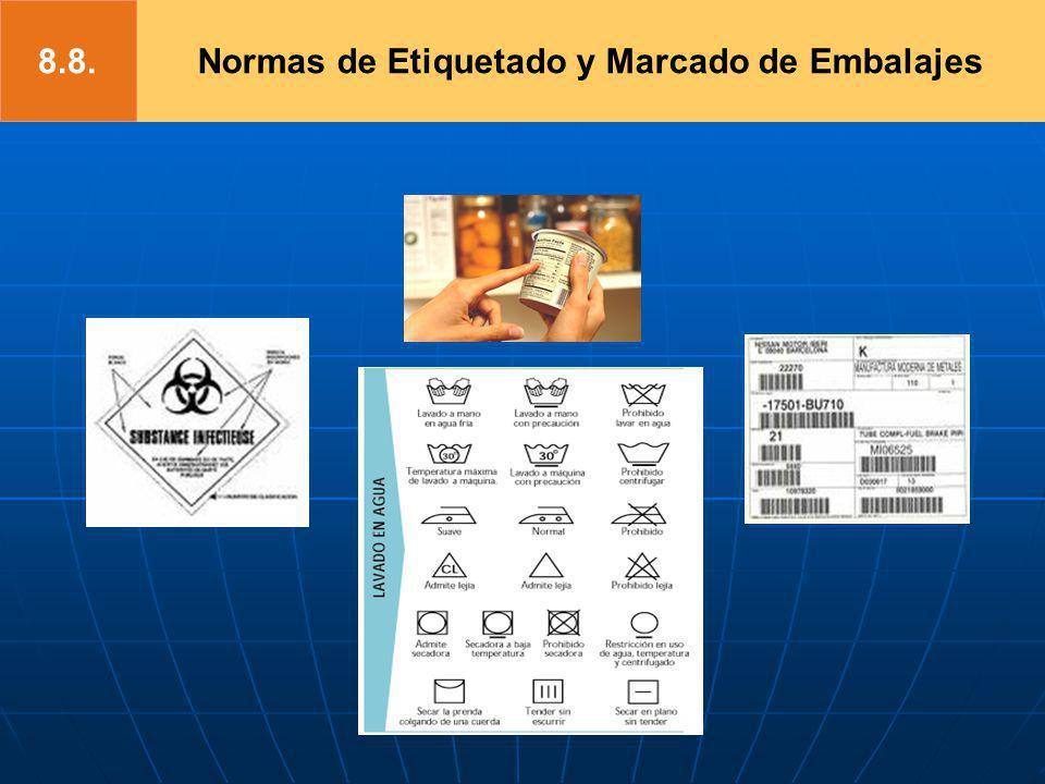 Normas de Etiquetado y Marcado de Embalajes