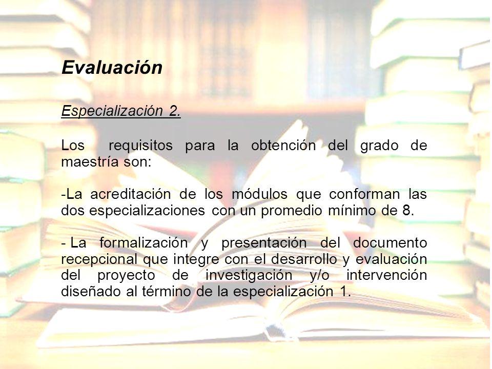 Evaluación Especialización 2.