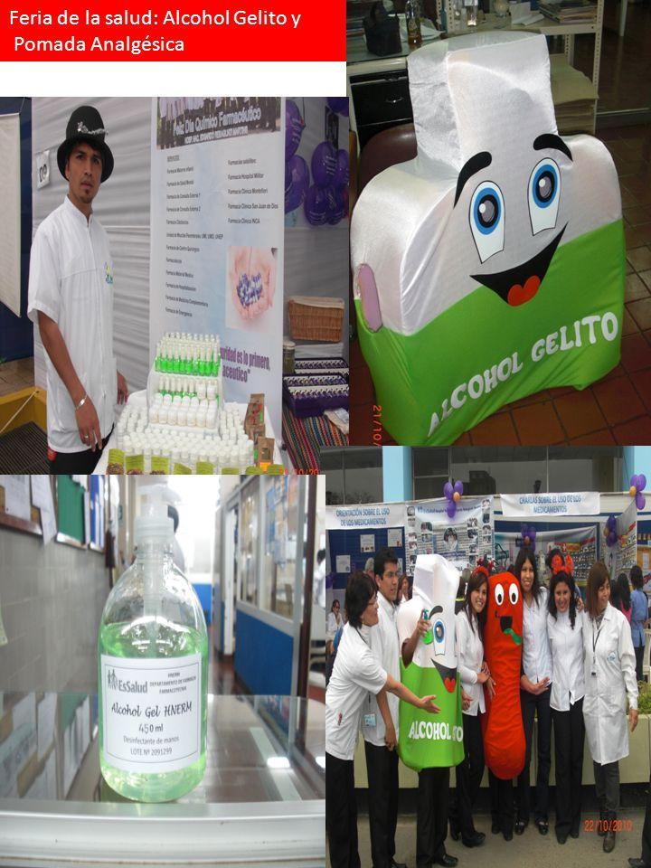 Feria de la salud: Alcohol Gelito y