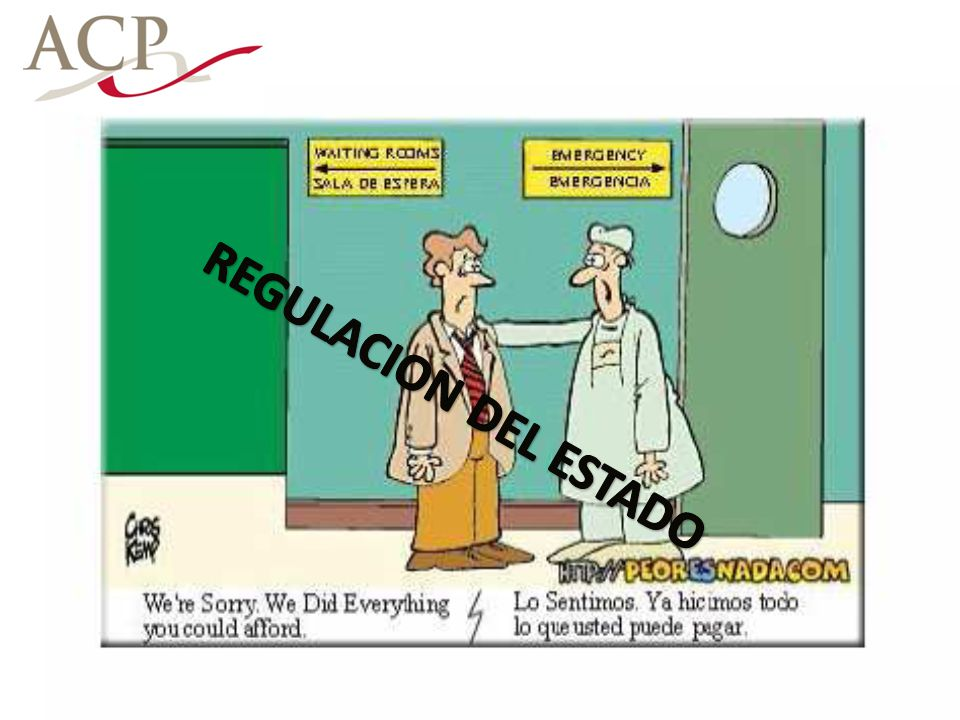 REGULACION DEL ESTADO
