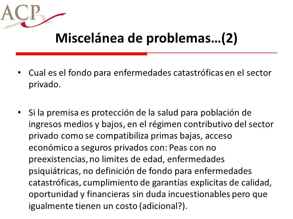 Miscelánea de problemas…(2)