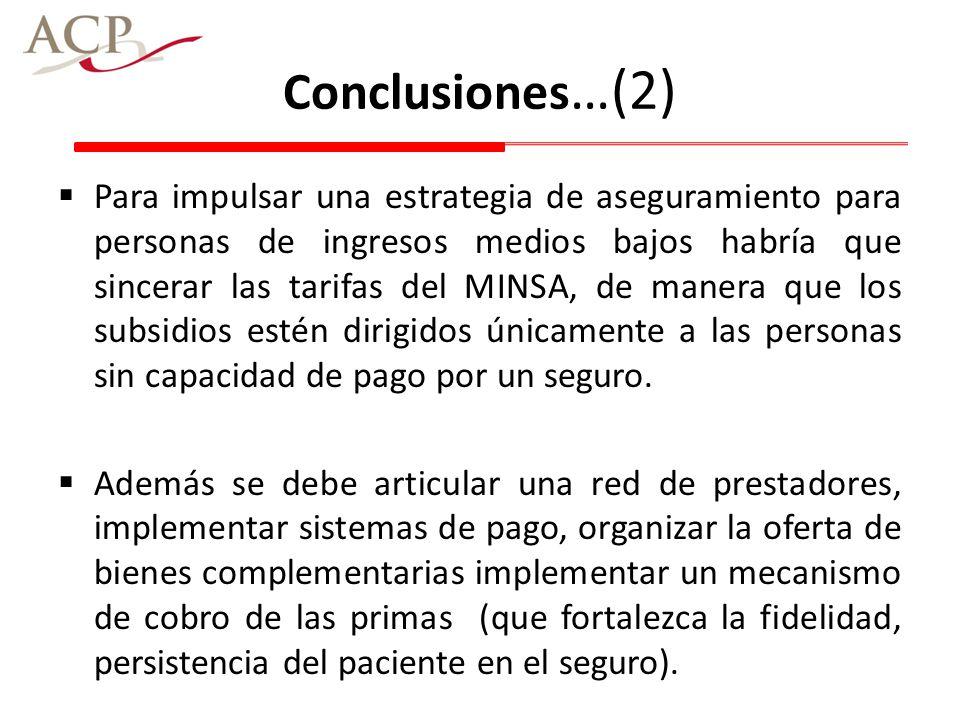 Conclusiones…(2)