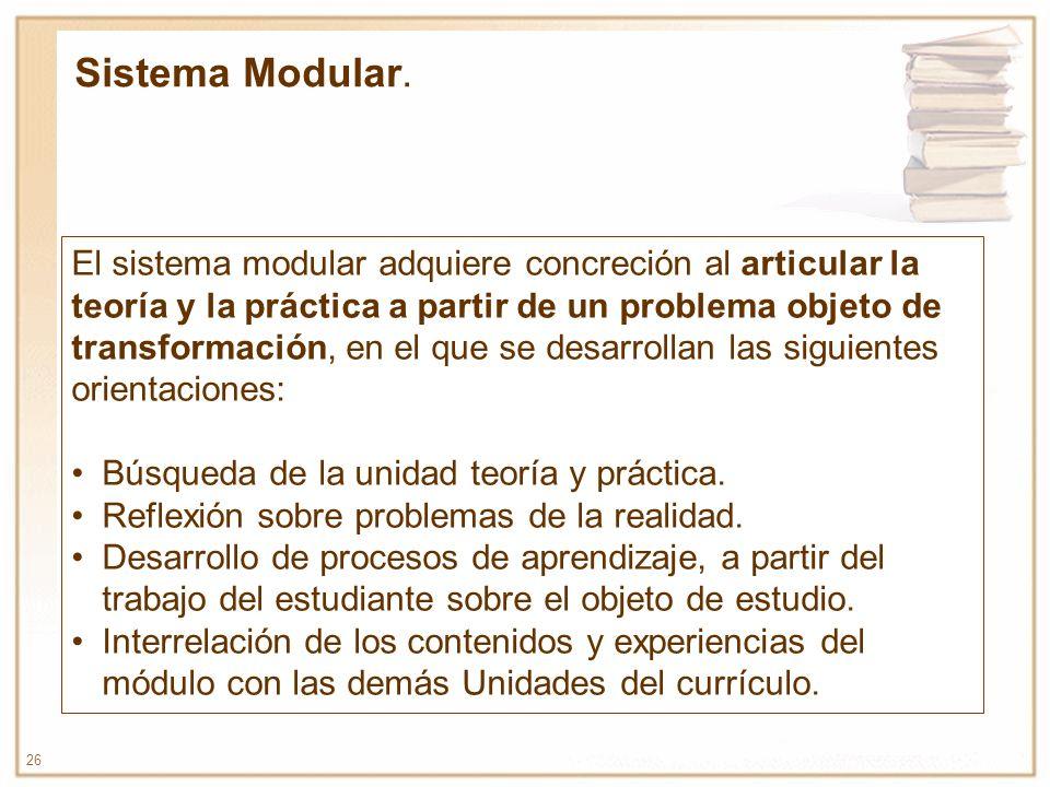 Sistema Modular.