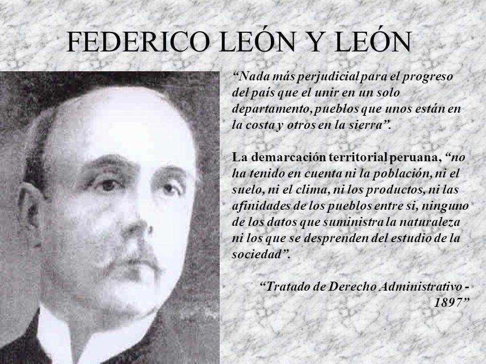 FEDERICO LEÓN Y LEÓN