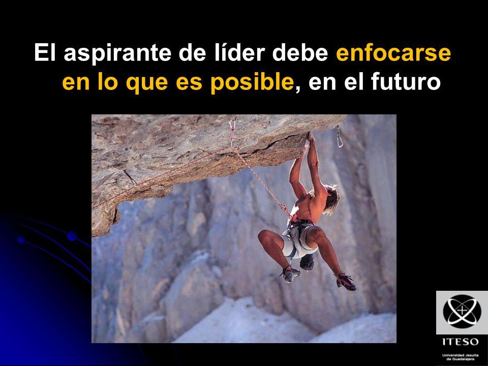 El aspirante de líder debe enfocarse en lo que es posible, en el futuro