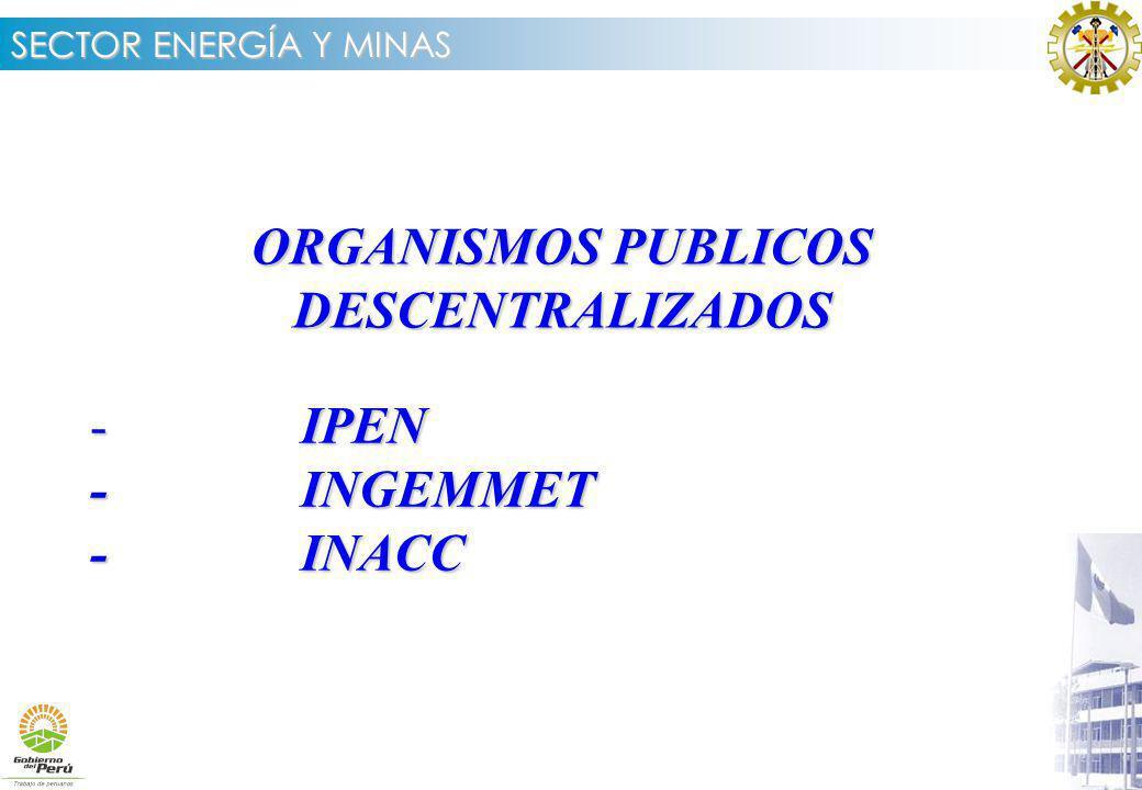 ORGANISMOS PUBLICOS DESCENTRALIZADOS