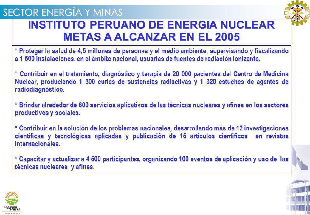 INSTITUTO PERUANO DE ENERGIA NUCLEAR