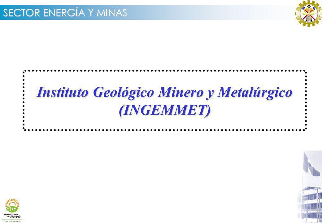 Instituto Geológico Minero y Metalúrgico (INGEMMET)