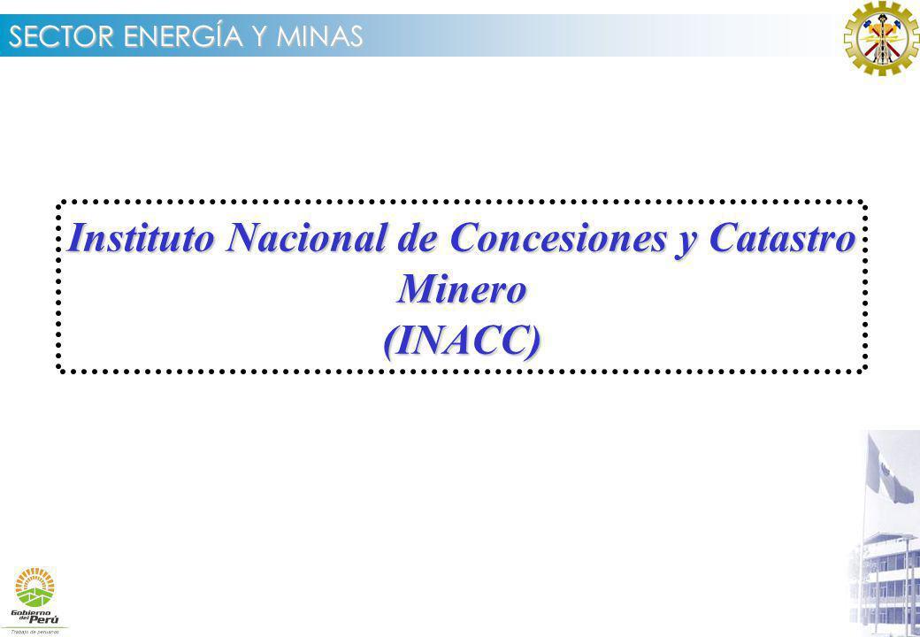 Instituto Nacional de Concesiones y Catastro Minero (INACC)