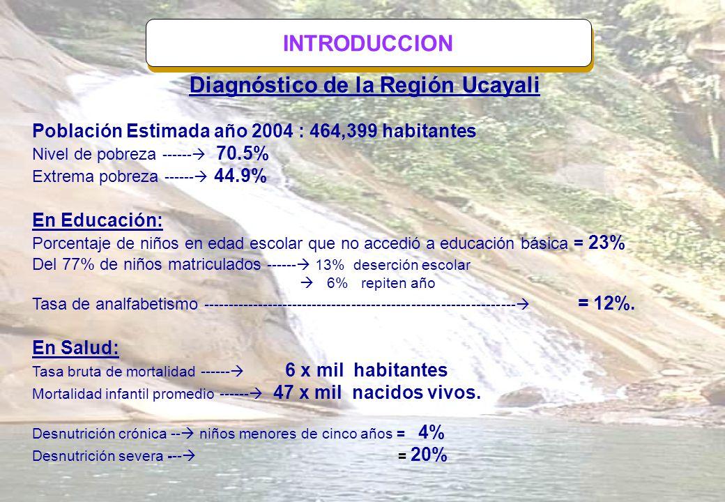 Diagnóstico de la Región Ucayali
