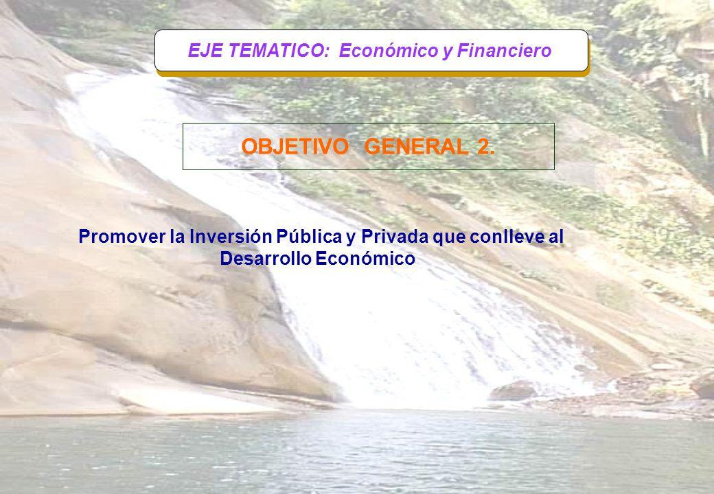 EJE TEMATICO: Económico y Financiero