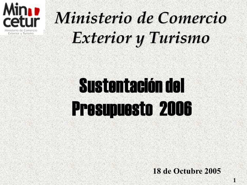 Sustentación del Presupuesto 2006