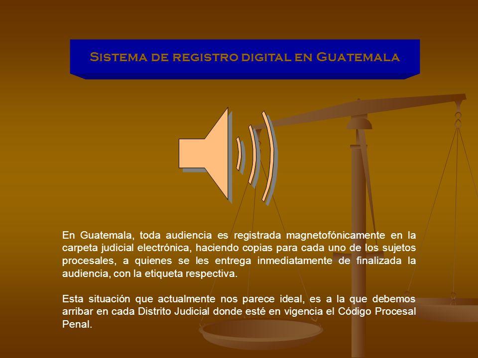 Sistema de registro digital en Guatemala