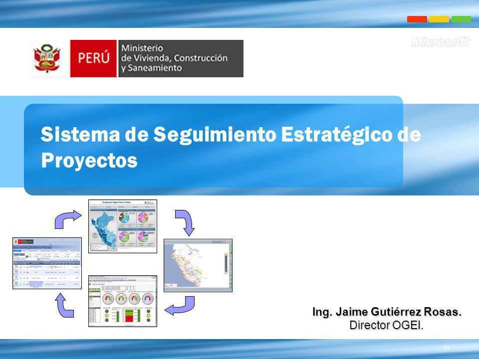 Sistema de Seguimiento Estratégico de Proyectos