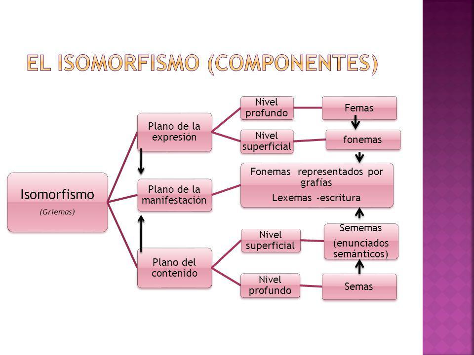 El isomorfismo (componentes)