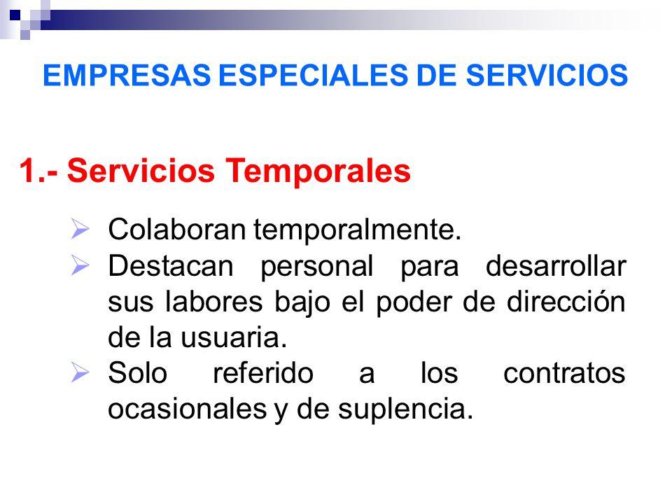 EMPRESAS ESPECIALES DE SERVICIOS