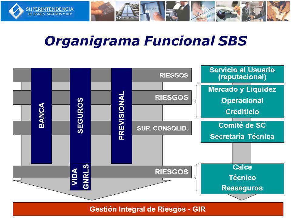 Organigrama Funcional SBS