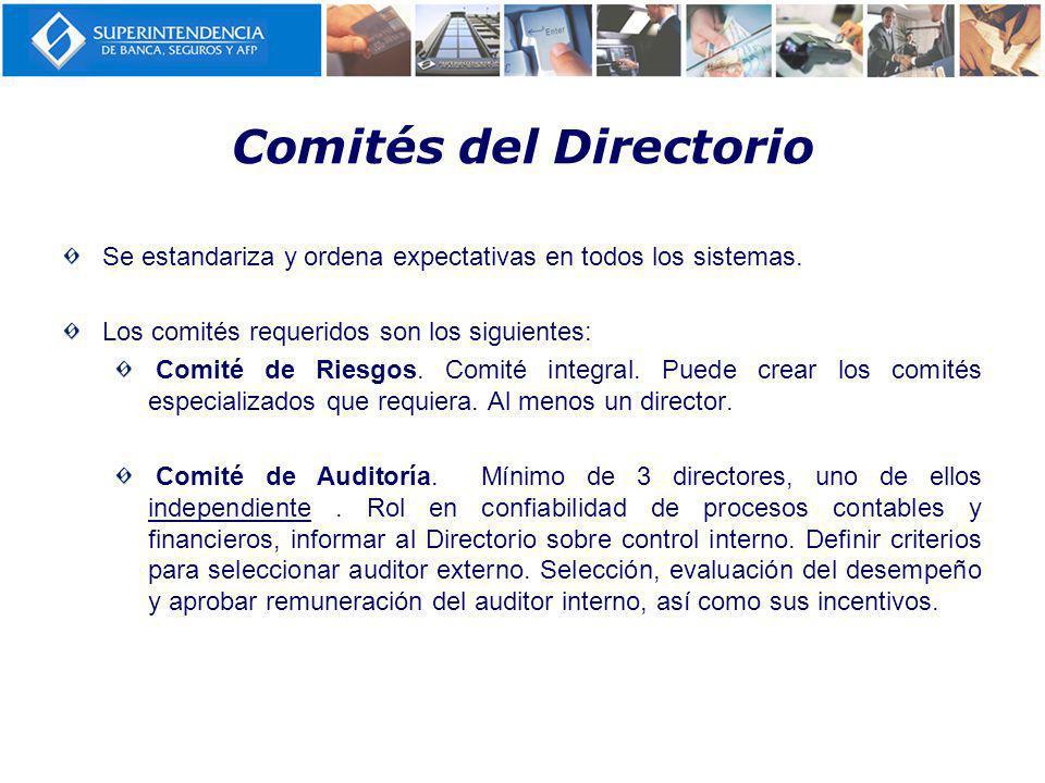 Comités del Directorio