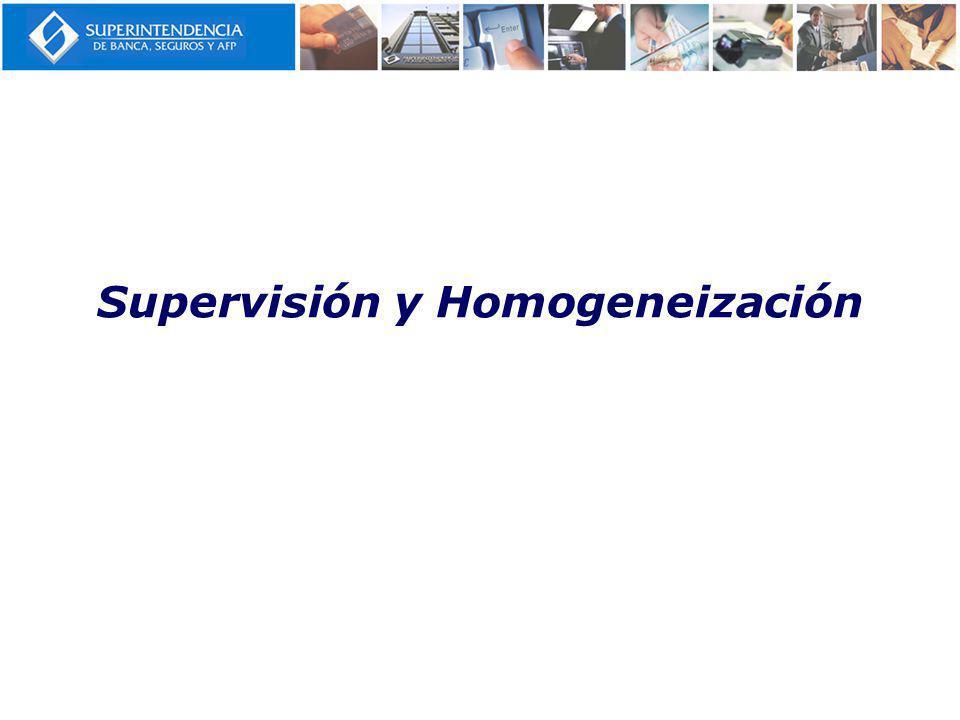 Supervisión y Homogeneización