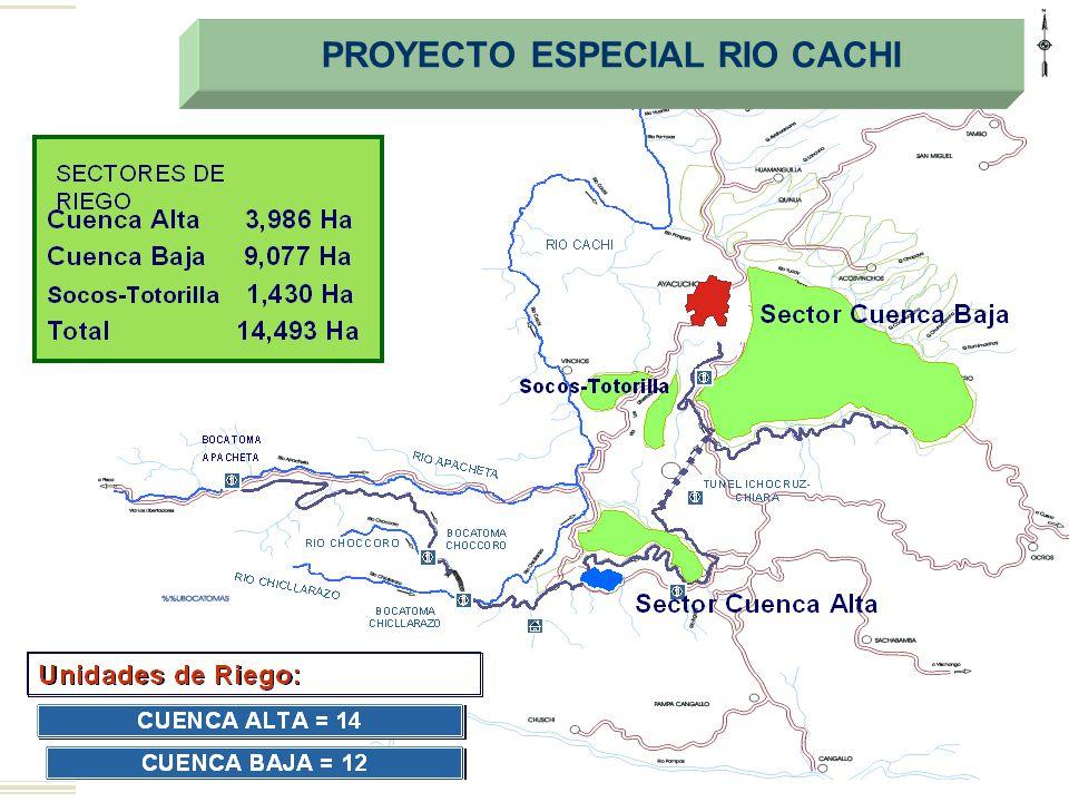 PROYECTO ESPECIAL RIO CACHI